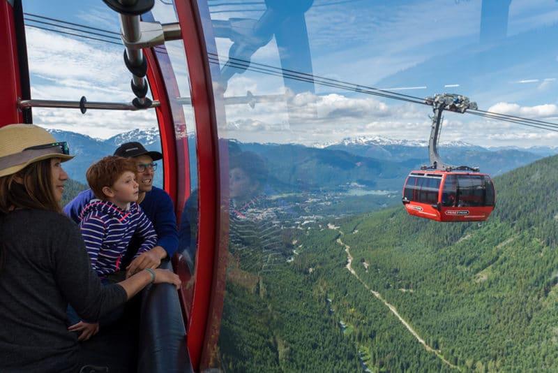 gondola at whistler peak